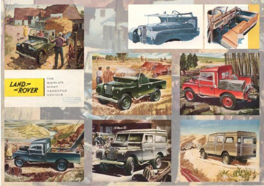 Land Rover Brochures - British Car Brochures ( Www.Car-Brochures.Eu )